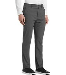 cole haan grand.s gray modern fit pants