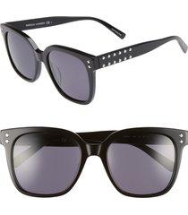 women's rebecca minkoff cyndi 54mm studded sunglasses -