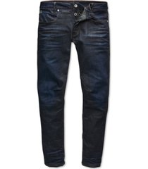 g-star raw men's slim-fit stretch dark aged jeans, created for macy's