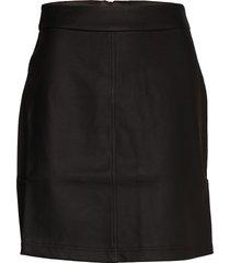 becky skirt knälång kjol svart twist & tango