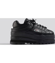 fila trailblazer wedge wmn sneaker - black