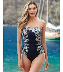 cloisonne avanti firm control one-piece swimsuit