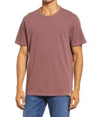 men's madewell garment dyed allday crewneck t-shirt, size xx-large - brown