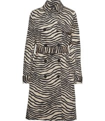 rainie trench coat rock multi/mönstrad by malene birger