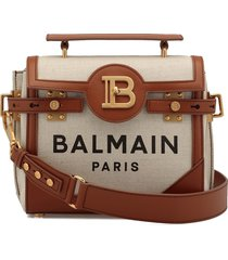 balmain b-buzz 23 tote bag