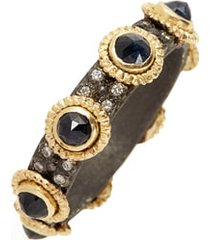 women's armenta old world sapphire & diamond stacking ring