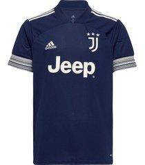 juventus away jersey t-shirts short-sleeved blauw adidas performance