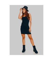 mini veste yacamim vestido preto