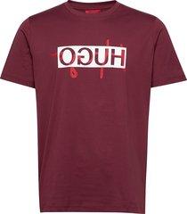 dicagolino201 t-shirts short-sleeved röd hugo