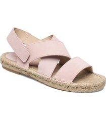 espadrilles sandaletter expadrilles låga rosa ilse jacobsen