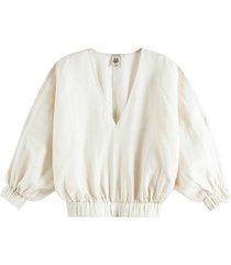 blouse linnen offwhite