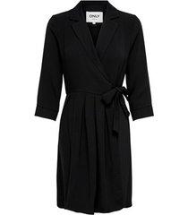 korte jurk only robe femme onlleda 2/4 plisse