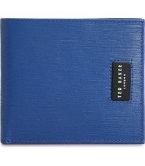 men's ted baker london ayteam leather wallet - blue