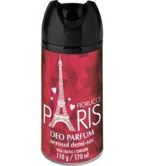 desodorante aerosol fiorucci paris 170ml