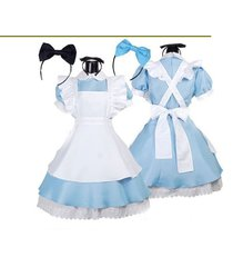 maid costumes womens adult alice in wonderland suit lolita fancy dress cosplay