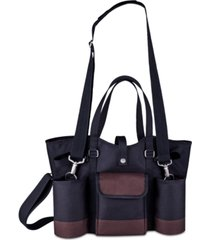 legacy by picnic time 4-pc. wine country wine & cheese tote