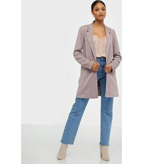 vero moda vmjaney l/s long blazer color kavajer