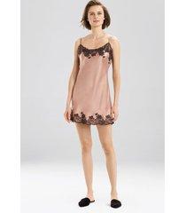lolita chemise pajamas, women's, red, 100% silk, size m, josie natori