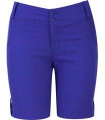 shorts pau a pique básico azul