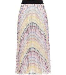 karl lagerfeld plisse skirt