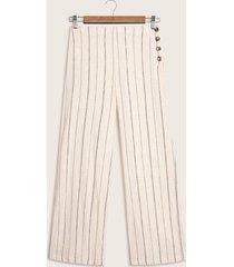 pantalon estampado beige 4
