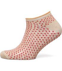 dollie dot footies träningssockor/ankle socks rosa becksöndergaard