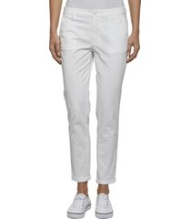pantalon essential chino blanco tommy jeans