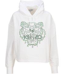 kenzo tiger boxy hoodie