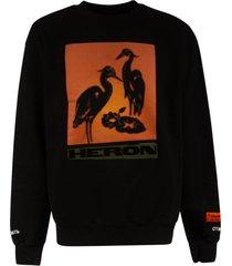 heron preston os crewneck sweatshirt