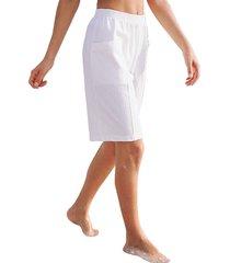 mjuka shorts med midjeresår dress in vit
