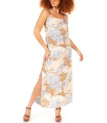 black tape petite printed maxi dress