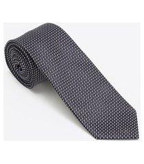 gravata regular poá | preston field | preto | u