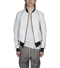 reversible cropped flight bomber jacket