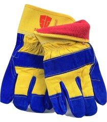 new 6 pairs safeguard leather work glove winter insulation, warm, waterproof