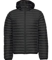 atlantic jacket man fodrad jacka svart ecoalf