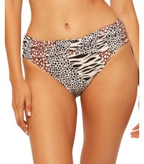 bleu by rod beattie sarong hipster bikini bottoms women's swimsuit