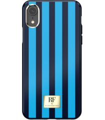 richmond & finch riverside stripes case for iphone xr