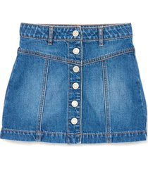 falda azul gap denim 616