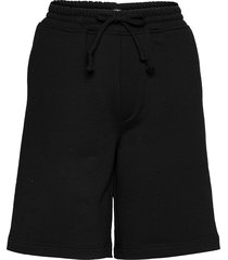 sweat shorts shorts flowy shorts/casual shorts svart r-collection