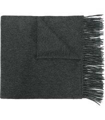 n.peal woven shawl - grey