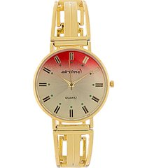 reloj dorado virox airtime