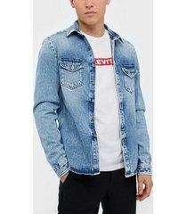 replay mv858 jacket jackor blue