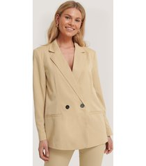 sisters point lili blazer - beige