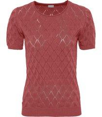 maglione a maniche corte (rosa) - bodyflirt