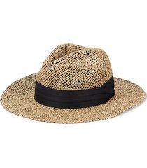 marcus adler men's straw panama hat - tan