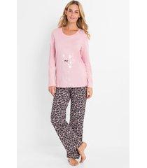 pyjama met folieprint