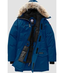 canada goose men's langford parka jacket - northern light - s