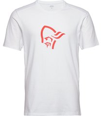 /29 cotton viking t-shirt m's t-shirts short-sleeved vit norrøna