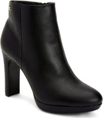 calvin klein women's photine platform bootie women's shoes