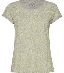 t-shirts t-shirts & tops short-sleeved grön edc by esprit